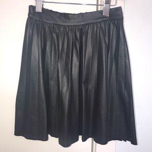Zara kids size 10 pleather skirt